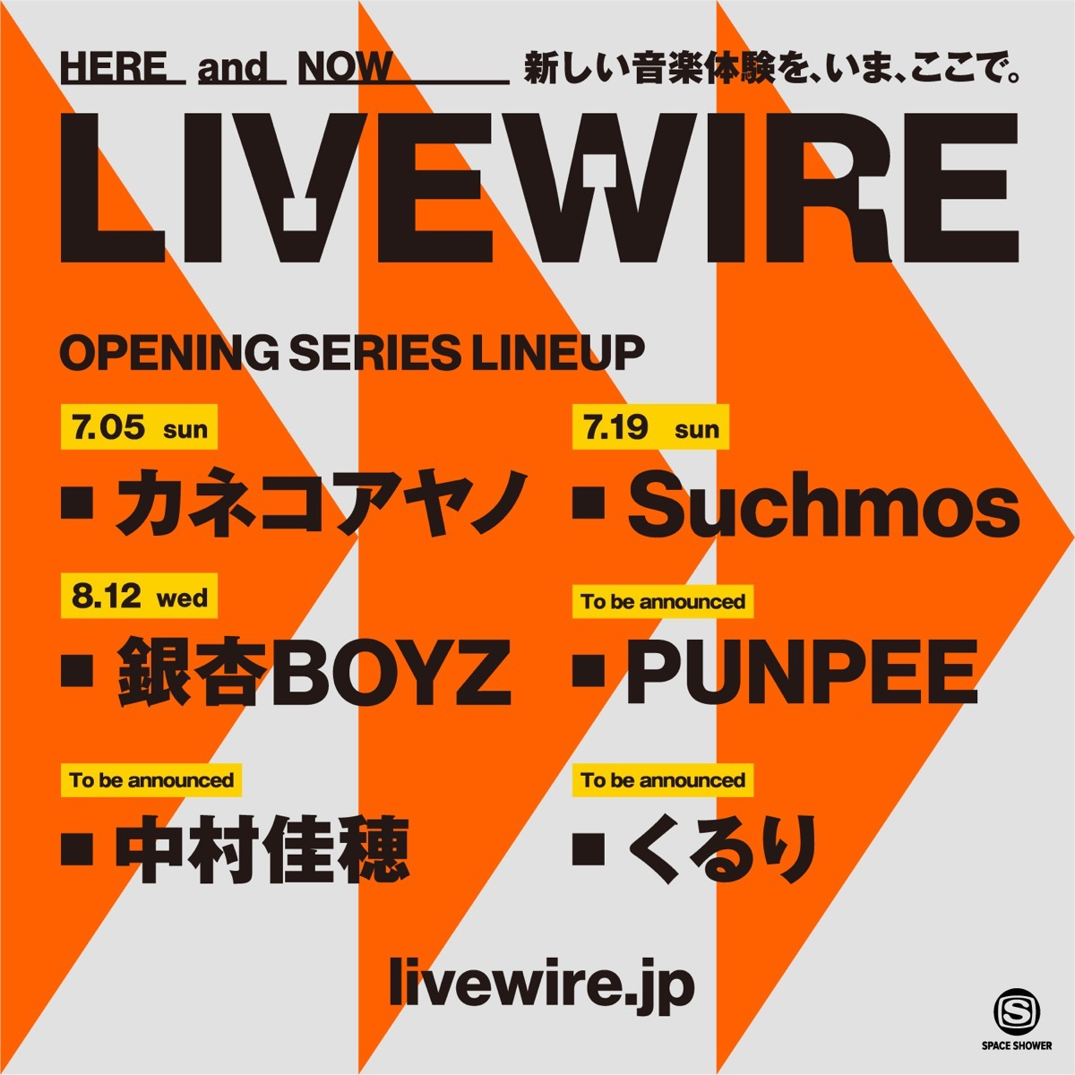 LIVEWIRE opening